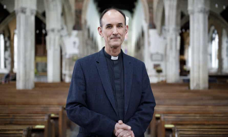 Rev Kelvin Inglis, rector of St Thomas's church.