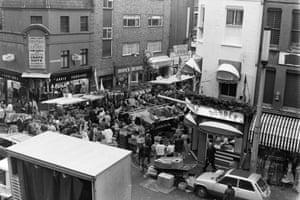 Petticoat Lane market 1986