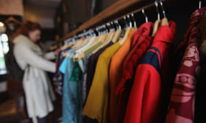 Only 15% of donated clothes are actually sold in charity shops in Australia, with huge amounts sent to landfill or on-sold to rag merchants in developing countries.