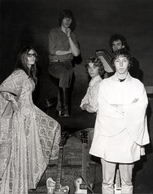 Judy Dyble, left, with Fairport Convention in 1967.