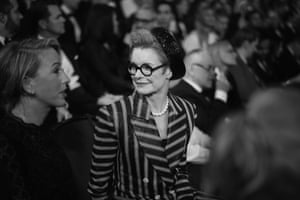 Sandy Powell who won the Bafta in the Costume Design category for her work on The Favourite
