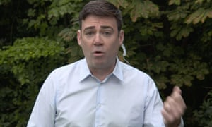 Andy Burnham speaking on the BBC's Andrew Marr show