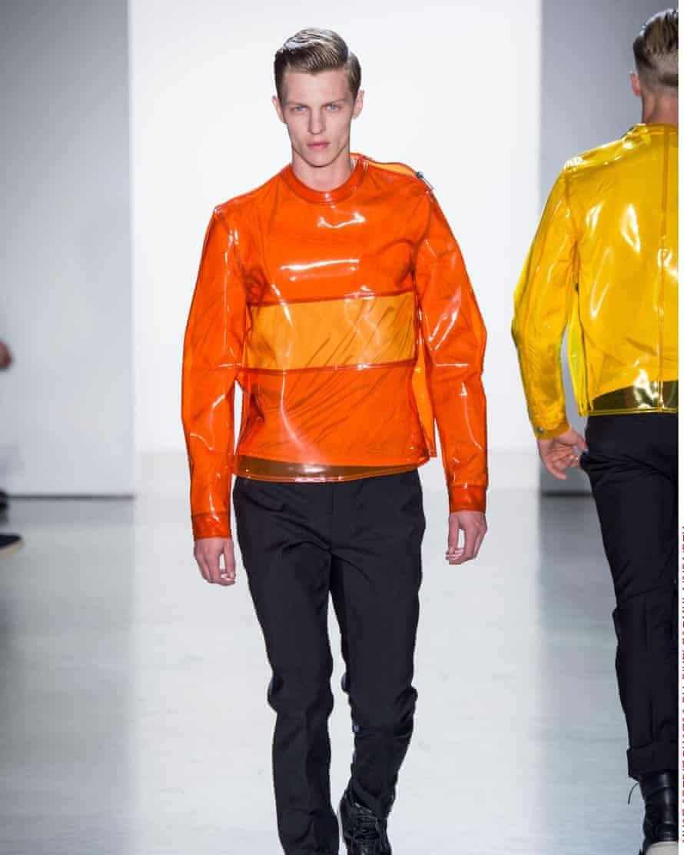 An Italo Zucchelli design for Calvin Klein's spring/summer 2015 collection.