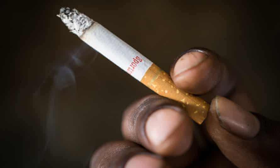 Approximately 100,000 people die from smoking-related diseases every year in UK hospitals.