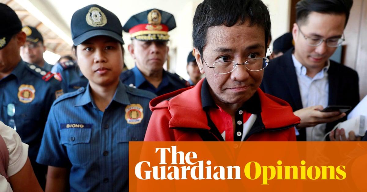 In Rodrigo Duterte's war on press freedom, Maria Ressa stands up for the truth