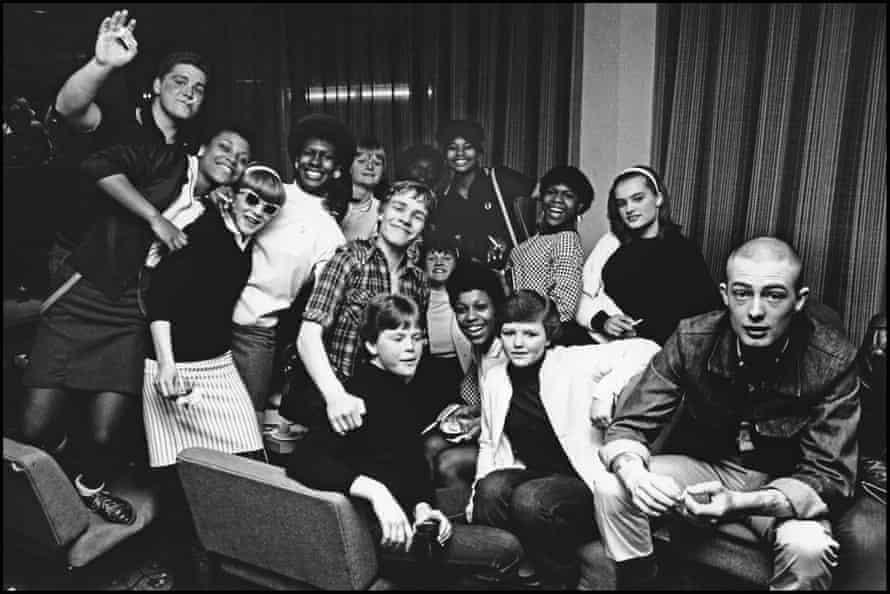 2 Tone fans, at a gig at Friars, Aylesbury, in 1980.