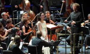 Jérémie Rhorer conducts Le Cercle de l'Harmonie, with Rosa Feola, at the 2016 BBC Proms.