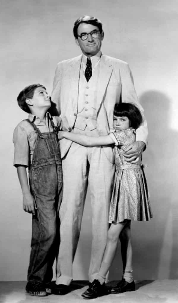 To Kill a Mockingbird … Gregory Peck as Atticus Finch, Mary Badham as Jean Louise 'Scout' Finch and Phillip Alford as Jeremy 'Jem' Finch in a publicity still for the film version of To Kill a Mockingbird.