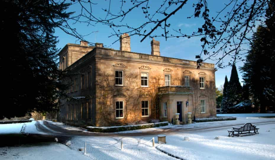 COme in from the cold: Eshott Hall, Morpeth, Northumberland.