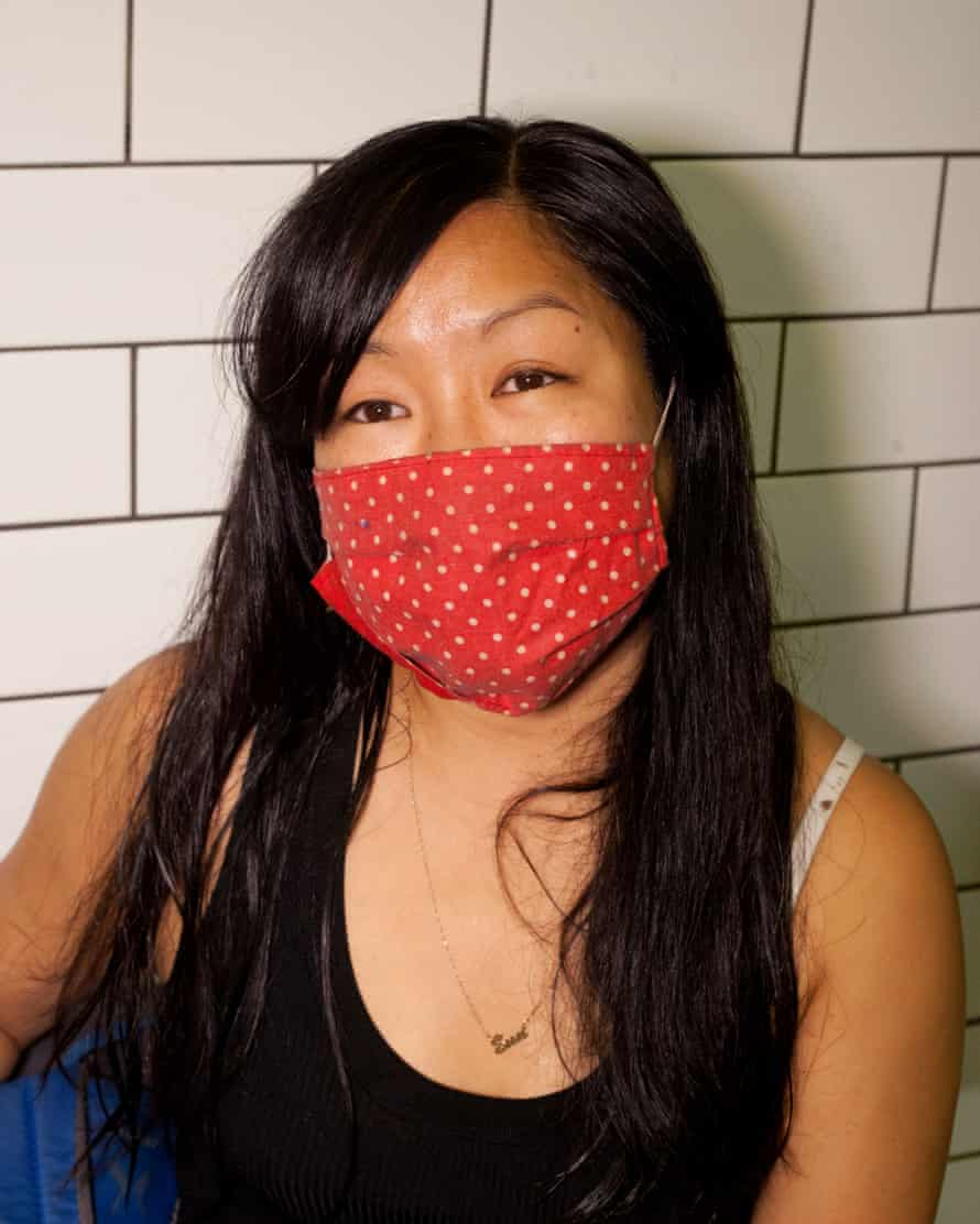 Commuter Sun Oh said she was 'terrified' of people who were not wearing masks coughing or sneezing on her