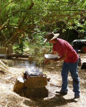 Néméara farm - barbecue.