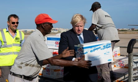 Everyone assumes that because someone is a westerner they'll be more competent than the local people. Boris Johnson in Somalia, 2017.