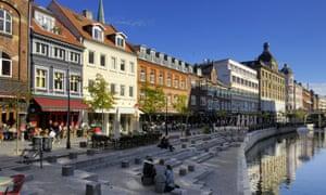 A view of Aarhus, Denmark