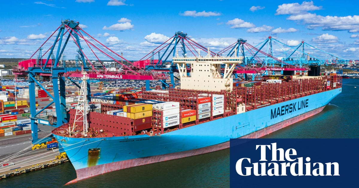 Shipping giant Maersk spends £1bn on 'carbon neutral' container ships