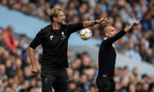 Jurgen Klopp and Pep Guardiola are central figures in what should be a tense run-in.