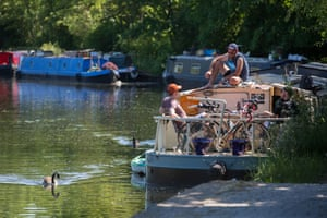 Canal boaters