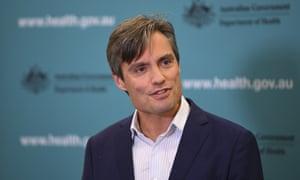 Australian deputy chief medical officer Dr Nick Coatsworth