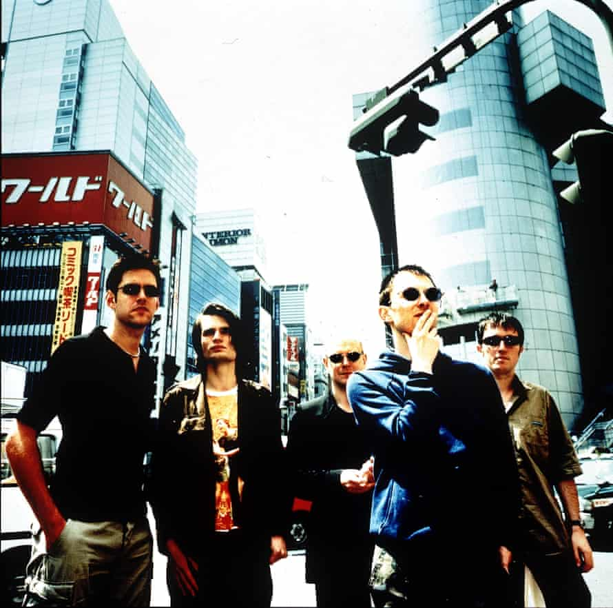 Radiohead c2000 ... (from left) Ed O'Brien, Jonny Greenwood, Philip Selway, Thom Yorke and Colin Greenwood.