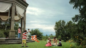 A still from the video Scenes from Western Culture, Rich German Children, 2015, by Ragnar Kjartansson.