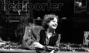 'Understood the changeability of women's beauty': Thea Porter outside one of her shops in November 1977