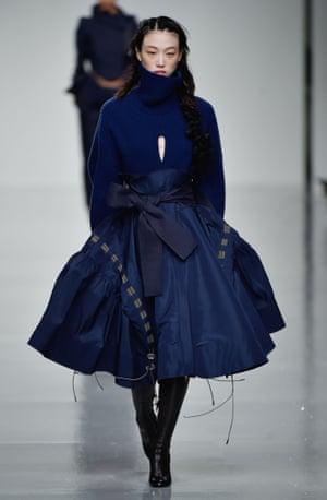 Antonio Berardi AW17, London fashion week