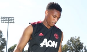 Anthony Martial says he will return to training with Manchester United on Thursday.