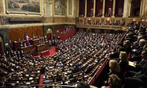 François Hollande addresses both houses of parliament in Versailles