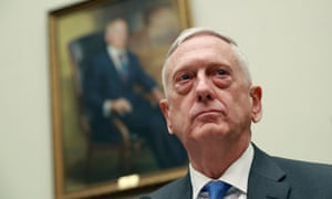 US Defence Secretary James Mattis testifies before the House Armed Services Committee