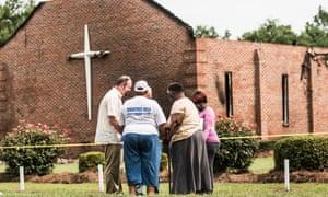 South Carolina church fire