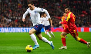 The unavailability of Ben Chilwell (left) saw Gareth Southgate use the right-footed Kieran Trippier at left-back against Belgium on Sunday.