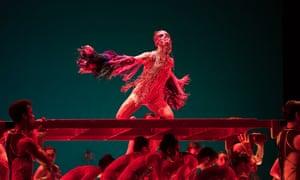 Exotic creatures … Arthur Pita's Björk Ballet.