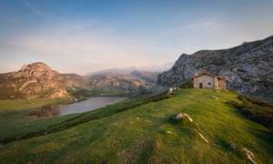 Lakes of Covadonga, Picos de Europa national park.