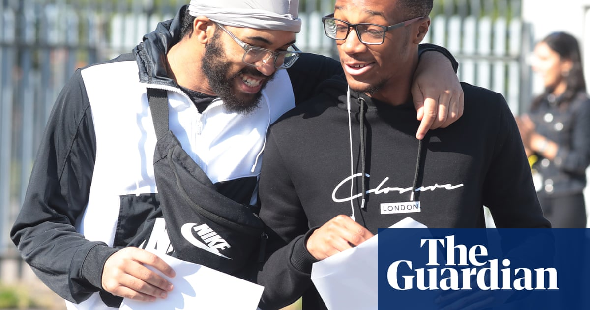 A-level and GCSE results show pandemic has widened inequality