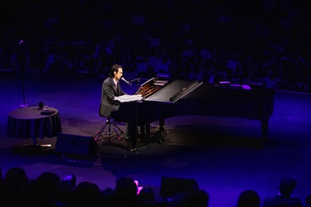 Nick Cave performing during his in Conversation at the Sydney Opera House
