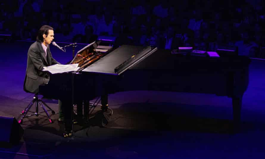'Who should cover my songs? Elvis' … Cave takes his Conversations tour to the Sydney Opera House.