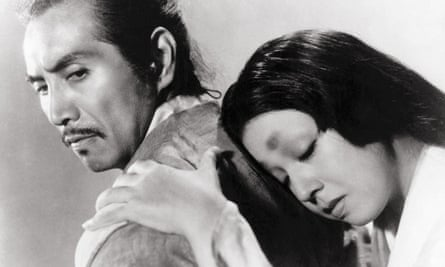 Machiko Kyo, right, and Masayuki Mori in Rashomon, 1951.