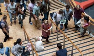 University hallway