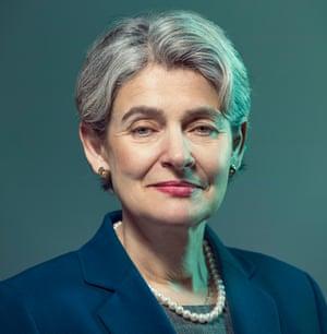 Unesco director general Irina Bokova, May 2016
