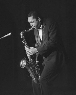 John Coltrane in 1959.