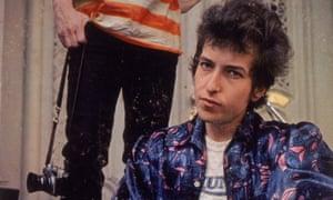 Bob Dylan's Highway 61 Revisited album cover, shot by Daniel Kramer