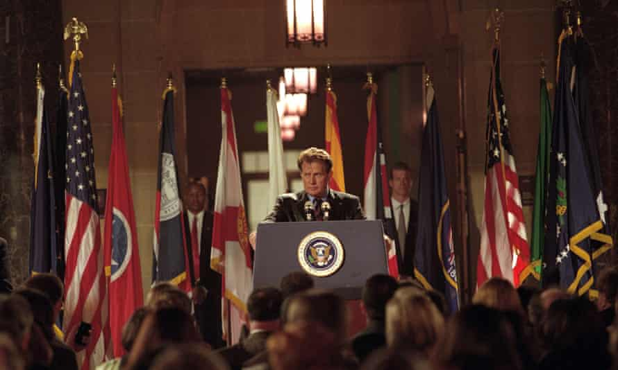 Martin Sheen as President Jed Bartlet in Two Cathedrals, the final episode of The West Wing's second season.
