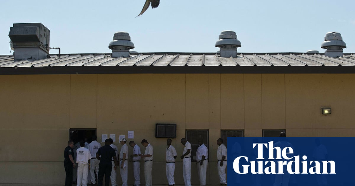 Alabama plans to use Covid relief funds to finance prison-building spree