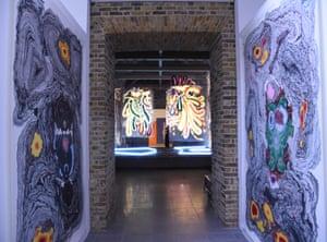 An undercurrent of violence … works by Das Institut, Serpentine Sackler Gallery.