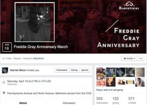 The 'Blacktivist' Facebook page.