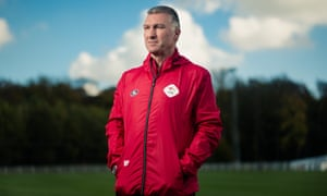 Nigel Pearson is happy managing OH Leuven, where fans and players drink together after the match. 'There's a realism to it here, a humility,' he says.