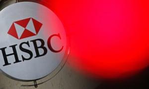 the HSBC banking logo