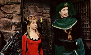 'Being an incarnation of Christian goodness didn't come naturally to me' … Jane Asher with Vincent Price in Roger Corman's film.