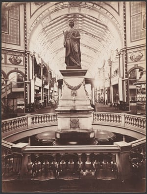 Statue of Her Majesty the Queen in the Garden Palace, c1879