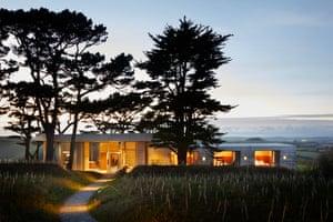 'Abundant transparency': Living Architecture's five-bedroom Secular Retreat in Devon.