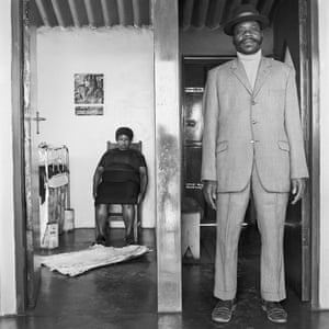 George and Sarah Mayani, 3153 Emdeni Extension, Soweto, August 1972.